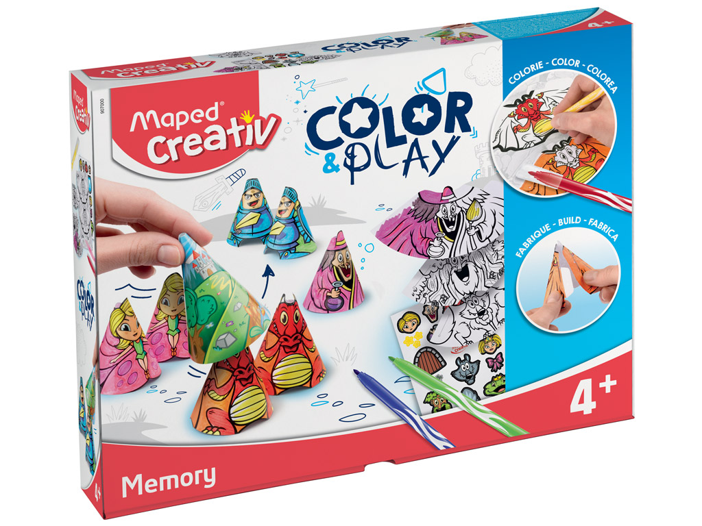Meistravimo komplektas Maped Creativ Color&Play Memory