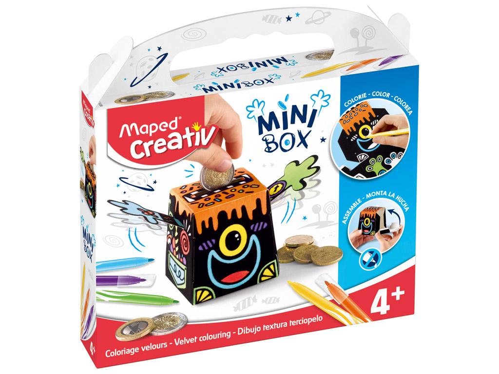 Meistravimo komplektas Maped Creativ Mini Box taupyklė