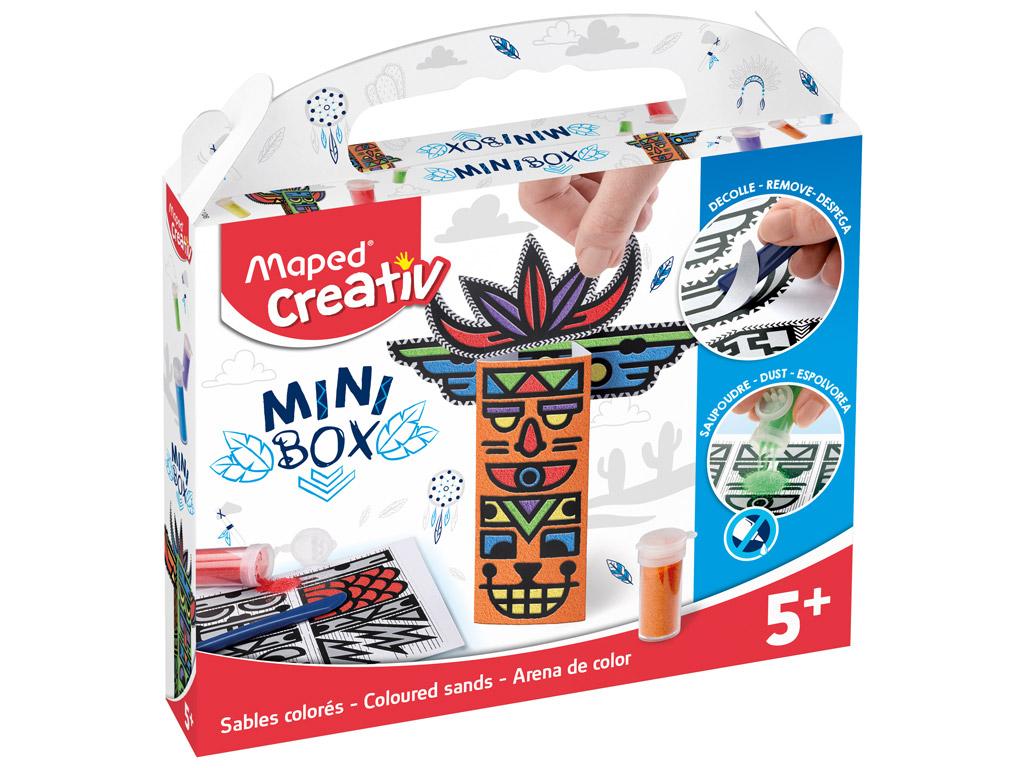 Coloured sand craft kit Maped Creativ Mini Box