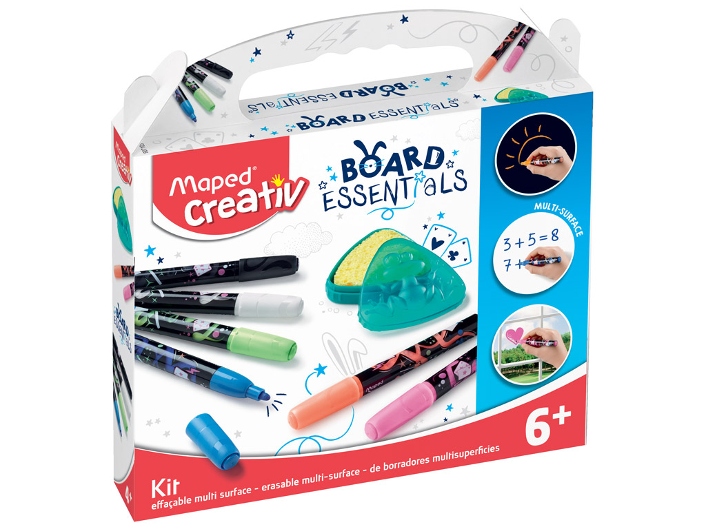 Lentos žymeklių rinkinys Maped Creativ Board Essentials