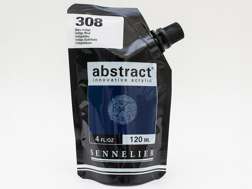 Akriliniai dažai Abstract 120ml 308 indigo blue