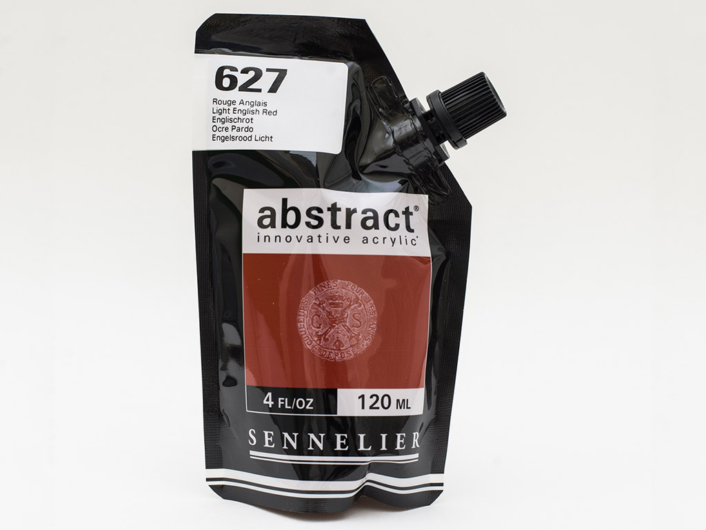Akriliniai dažai Abstract 120ml 627 light english red