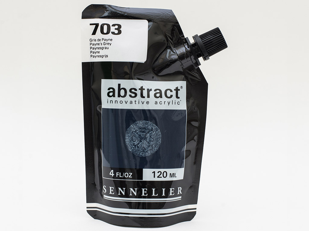 Akriliniai dažai Abstract 120ml 703 payne's grey