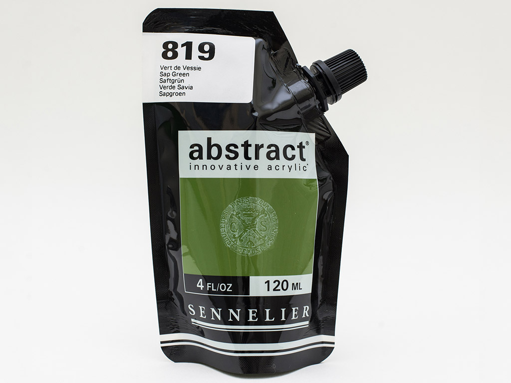 Akriliniai dažai Abstract 120ml 819 sap green