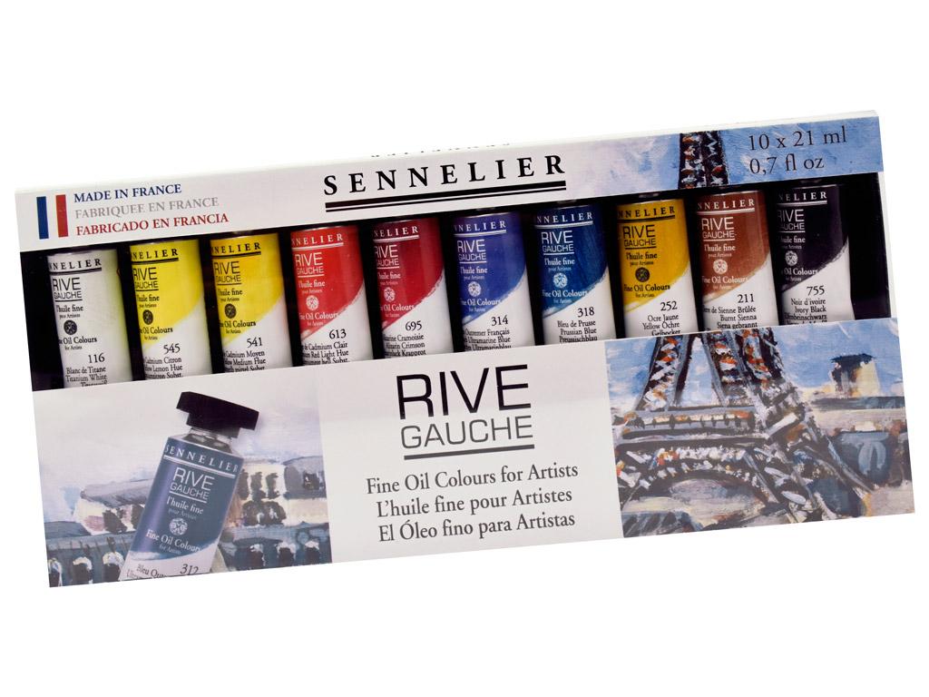 Eļļas krāsa Sennelier Rive Gauche 10x21ml