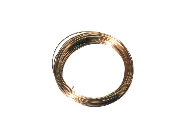 Gold-plated wire