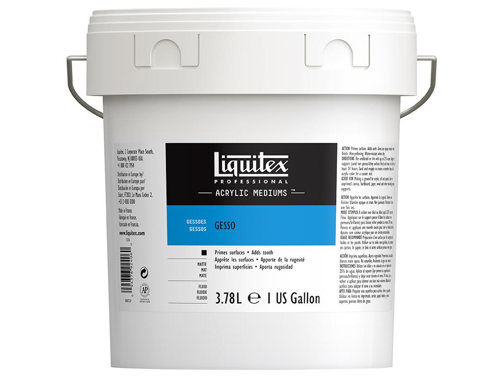 Grunts Liquitex Gesso 3.78l balta