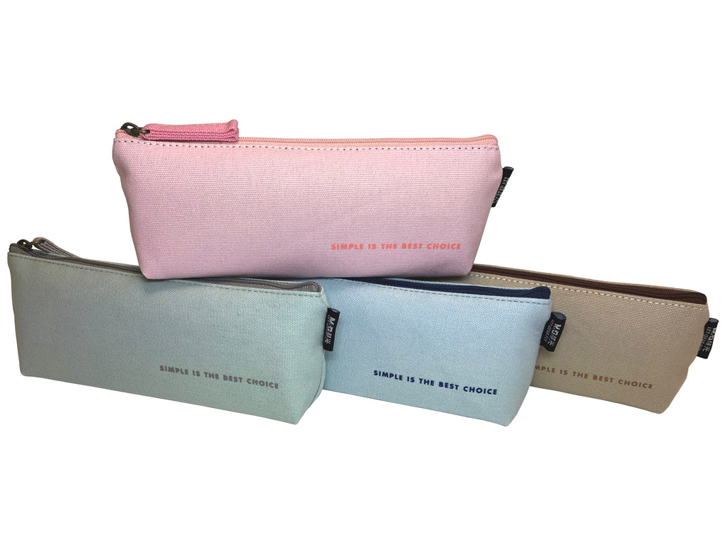 Pencil case M&G trapezoid Simple Me assorted