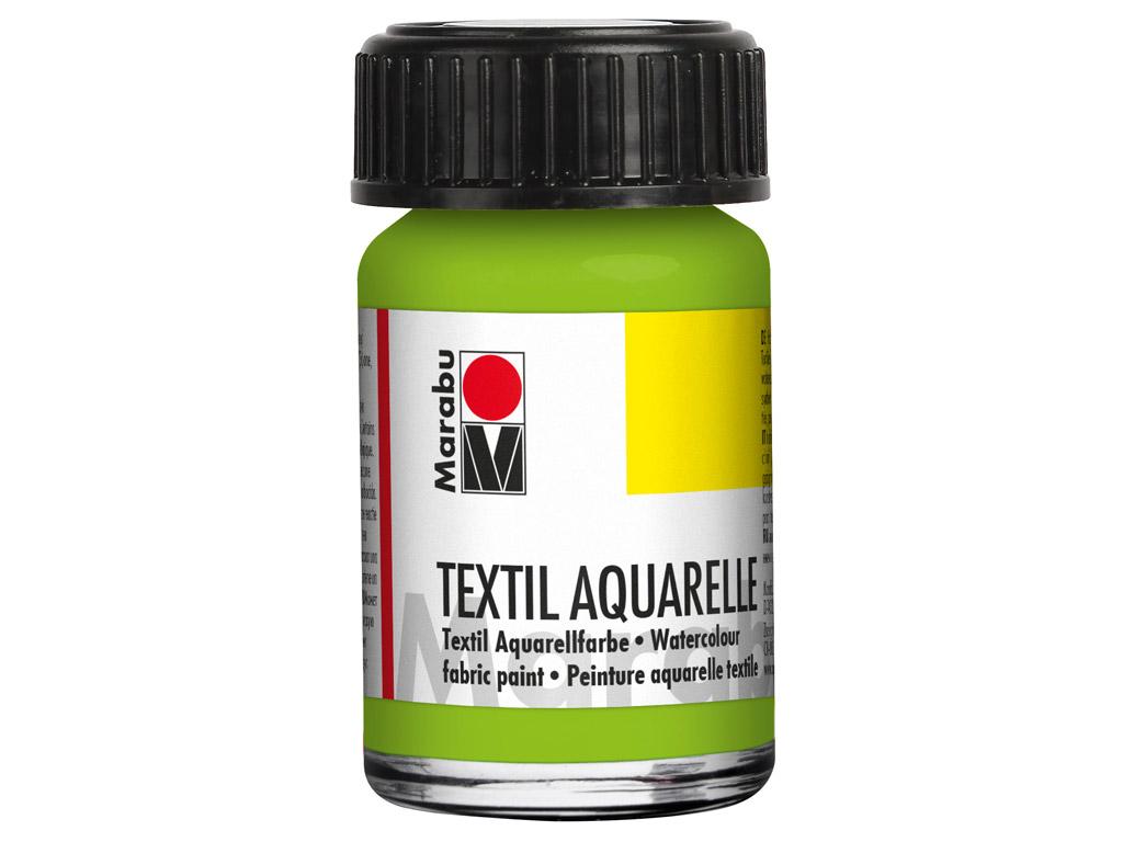 Tekstilės dažai Aquarelle 15ml 061 reseda