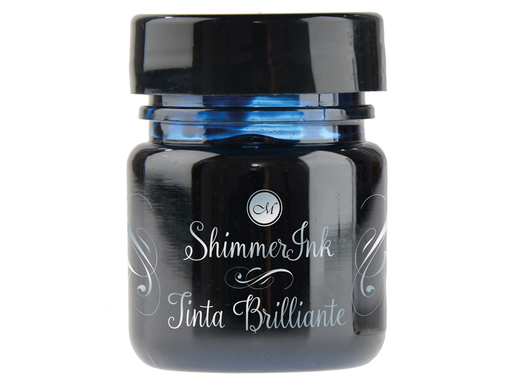 Kalligraafia tint Manuscript ShimmerInk 25ml enchanted seas