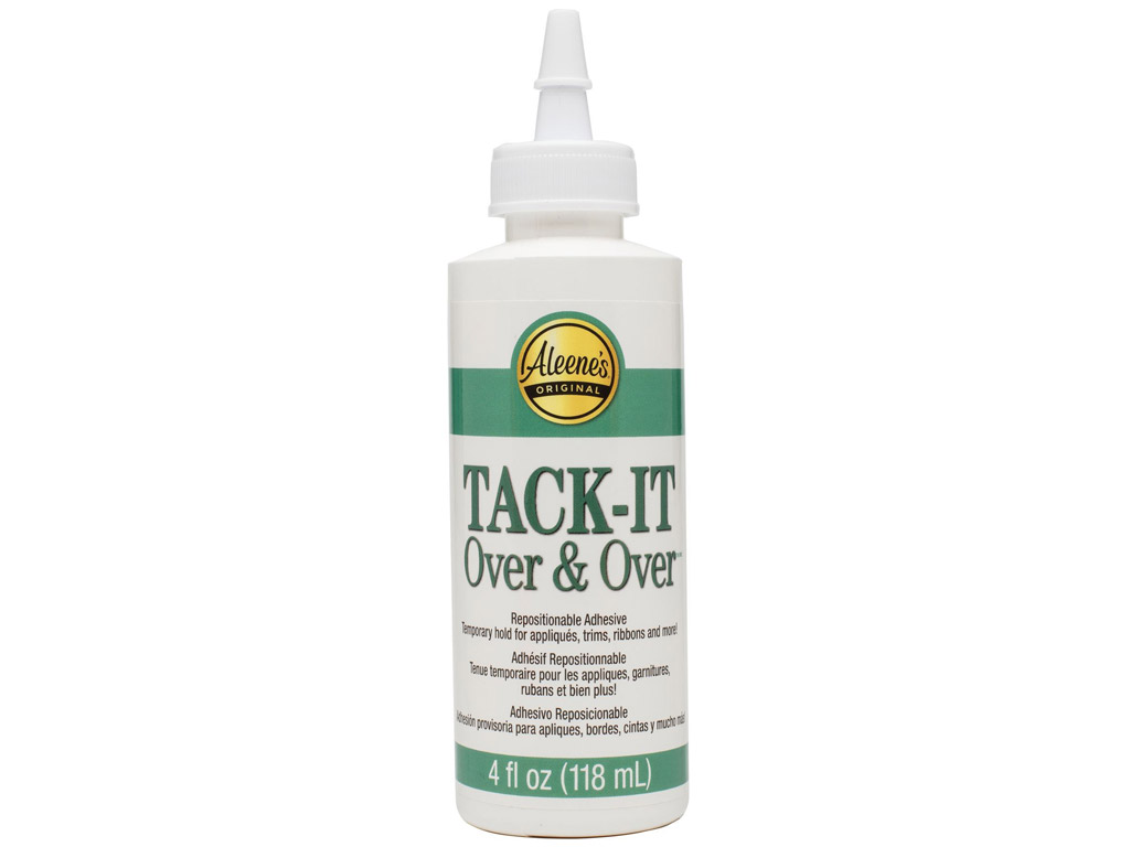 Textile glue Aleene's Tack-It Over&Over 118ml