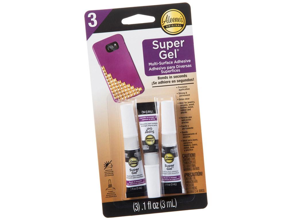 Pramoniniai klijai Aleene's Super Gel 3ml 3vnt. blister.