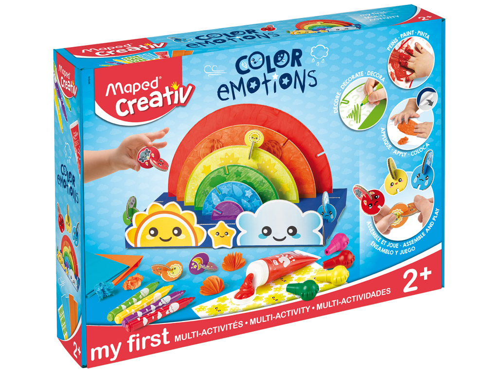 Meisterduskomplekt Maped Creativ Early Age Color Emotions