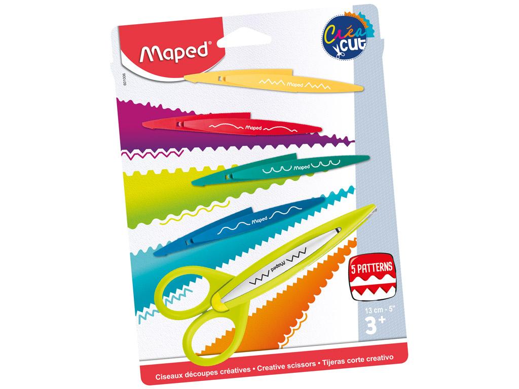 Scissors CreaCut 5-blade blister