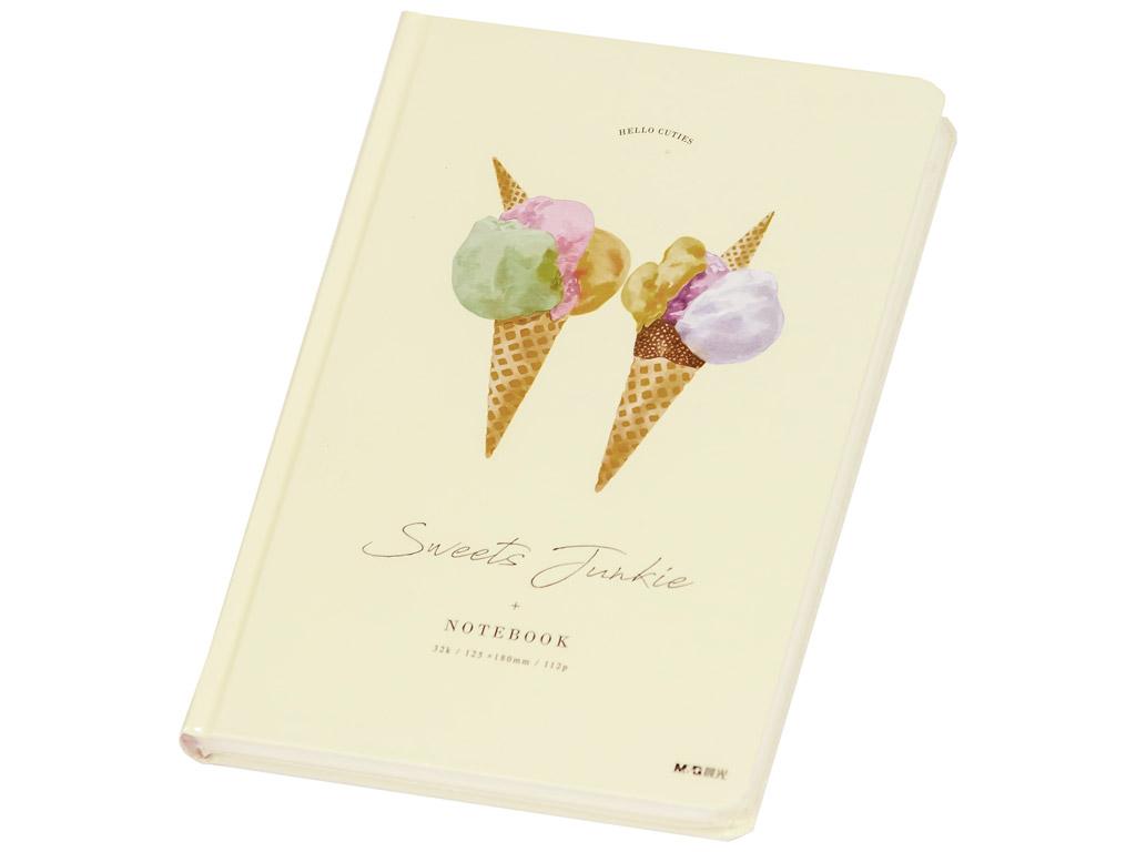 Märkmik M&G Sweets Junkie 12.5x18cm 112 lehte Ice Cream