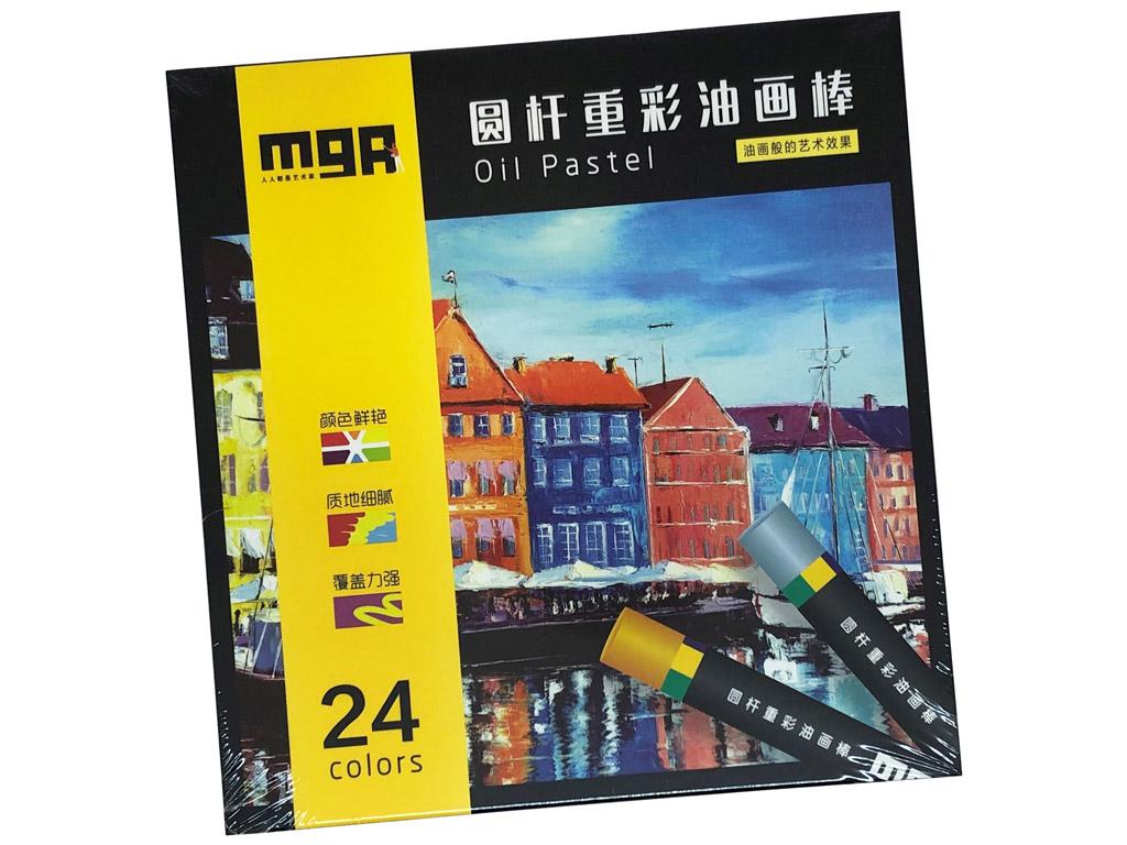 Oil pastel M&G Arts 24pcs