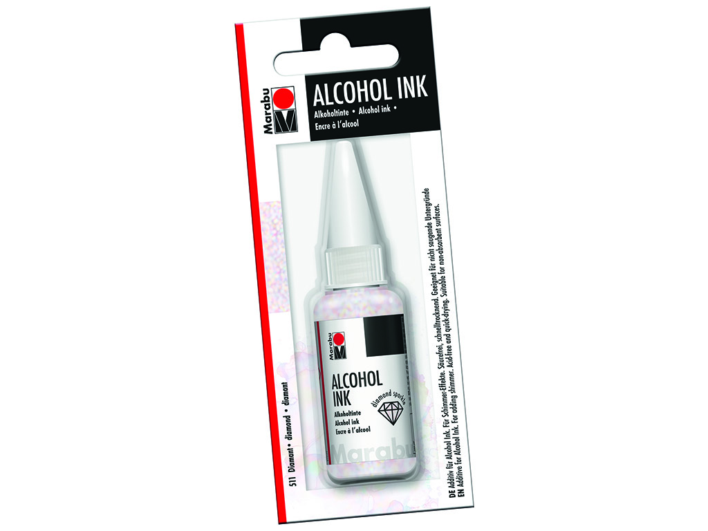 Alcohol ink additive Marabu Diamond 20ml blister