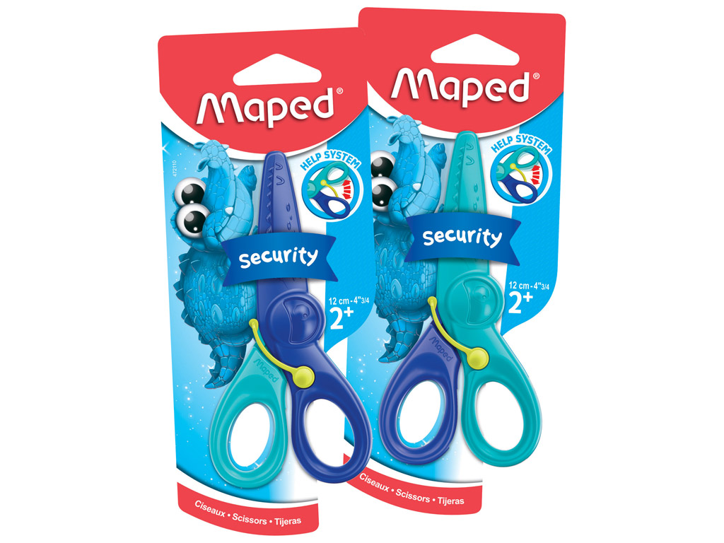 Šķēres Maped KidiPulse 12cm blisterī