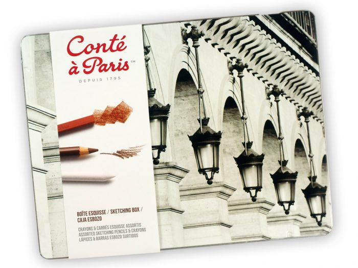 Eskiisi komplekt Conte a Paris Sketching Box