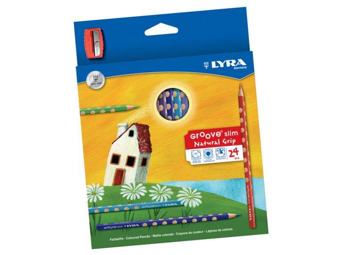 Colour pencil Lyra Groove Slim - 1/2