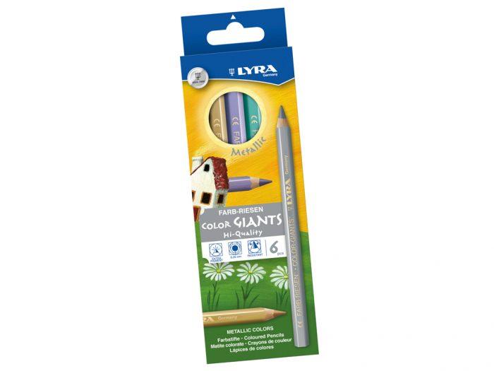 Spalvotas pieštukas Lyra Color Giants