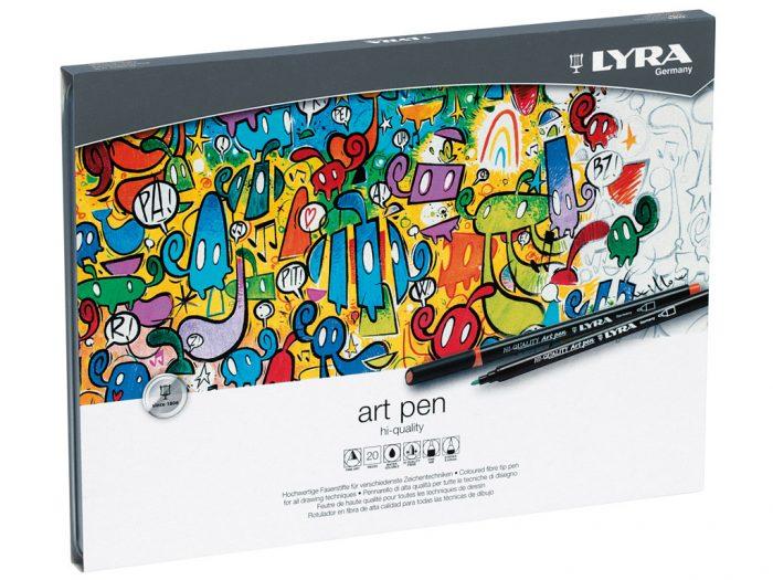 Flomasteri Lyra Hi-Quality Art Pen - 1/2