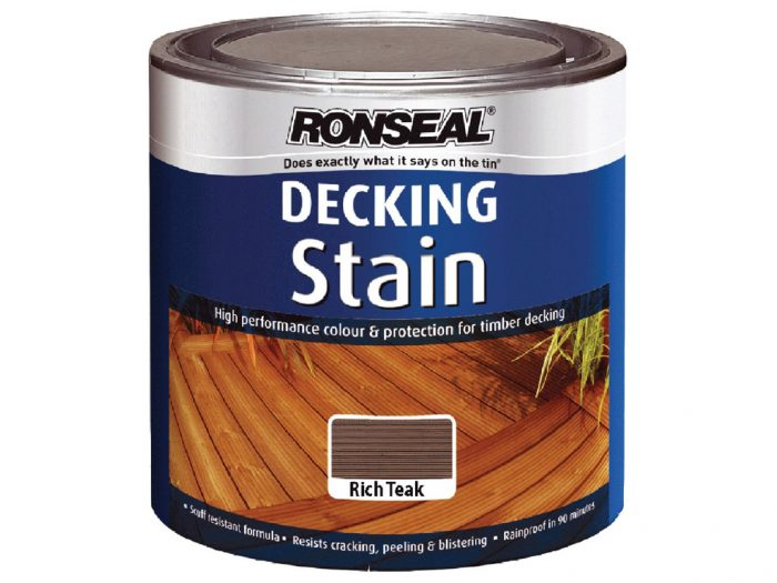 Decking Stain Ronseal 2.5L