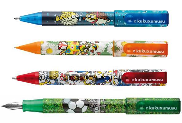 Lodīšu pildspalva Inoxcrom Kukuxumusu