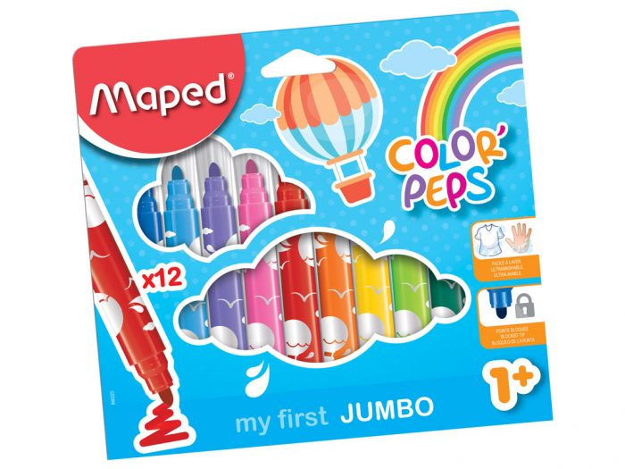 Flomasteri Maped Color'Peps Early Age Jumbo - 1/2