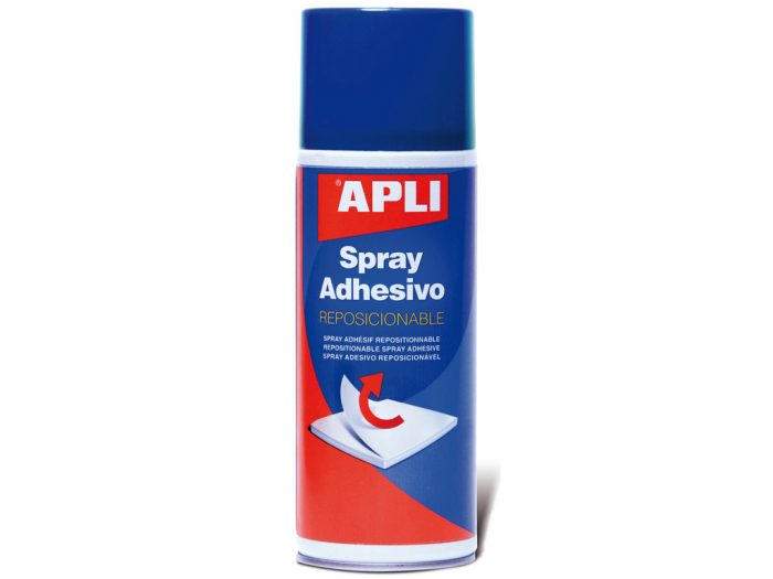 Spray adhesive repositionable Apli 400ml