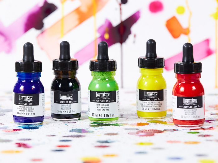 Akrilinis tušas Liquitex ink! 30ml - 1/5