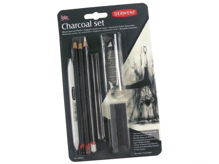 Söekomplekt Derwent Charcoal
