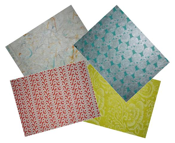 Lokta Paper 51x76cm patterns - 1/5