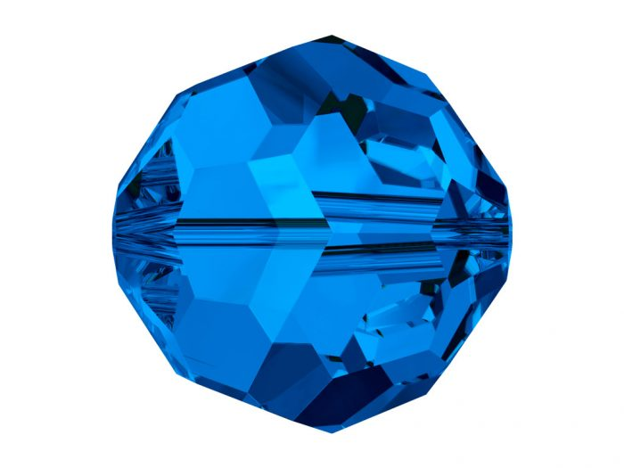Crystal Bead Swarovski round 5000 6mm - 1/2