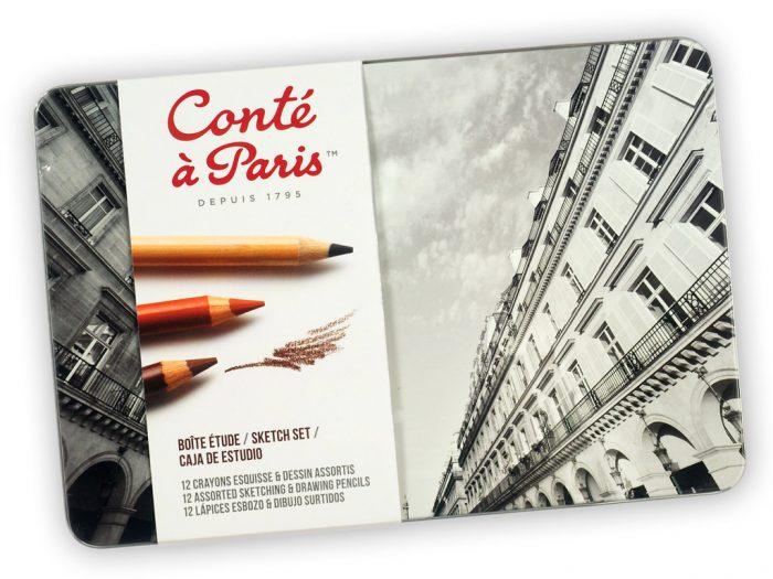Eskiisipliiats Conte a Paris metallkarp