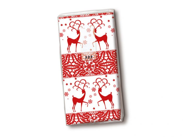 Handkerchiefs Paper+Design 10pcs winter/Christmas