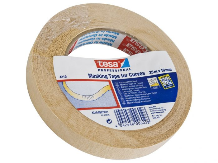 Masking Tape Tesa for Curves - 1/3