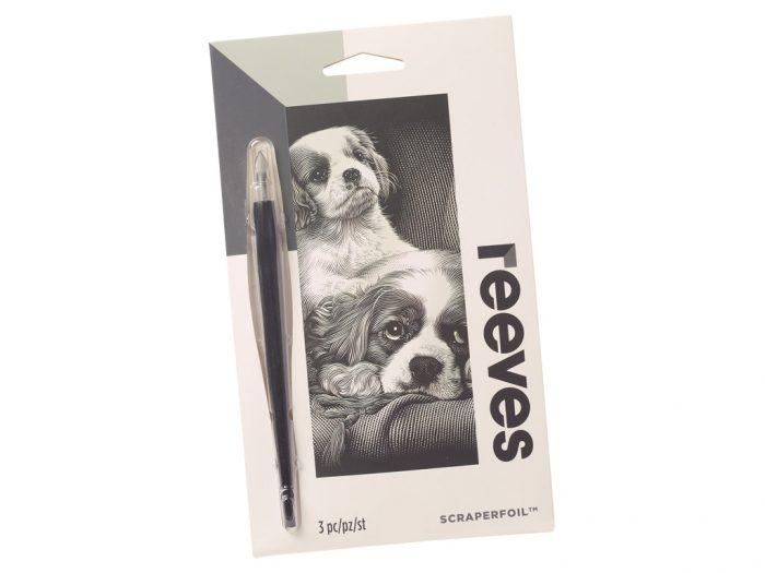 Kraapeplaat Reeves Mini Silver - 1/2