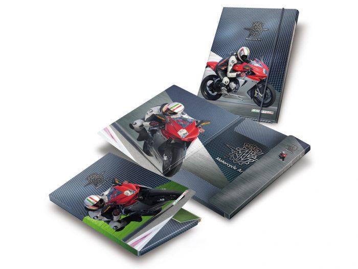 3 flap file folder Pigna MV Agusta