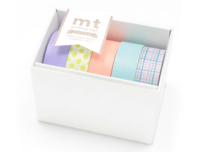 Washi līmlente mt gift box 5gab.