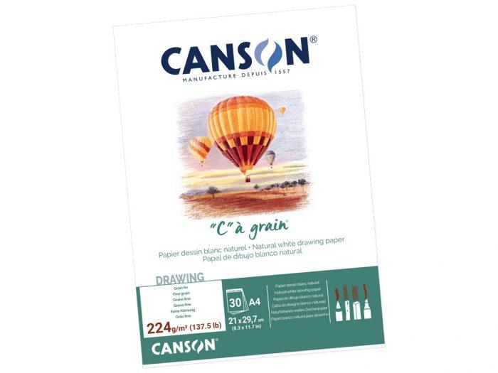 Piešimo bloknotas Canson C a Grain