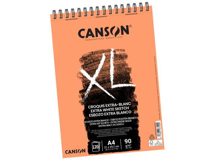 Skiču albums Canson XL Extra-Blanc