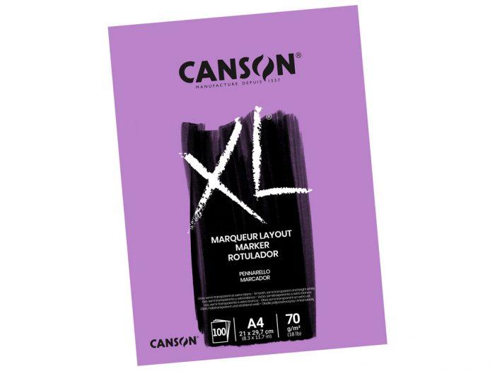 Joonistusplokk Canson XL Marker