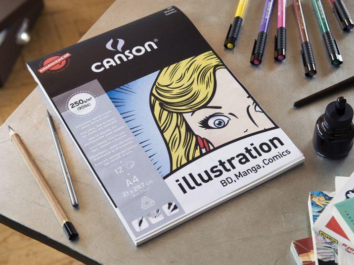 Drawing pad Canson Illustration
