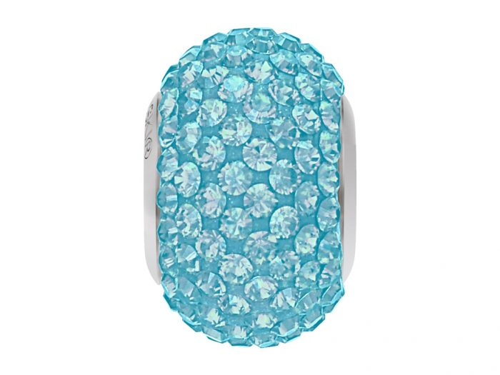 Crystal bead Swarovski BeCharmed Pave 80101 14mm - 1/2