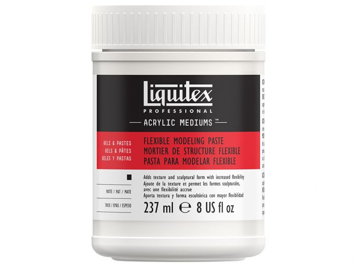 Flexible modeling paste Liquitex - 1/2