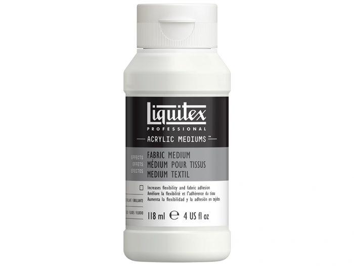 Speciali priemonė akriliniams dažams Liquitex Fabric