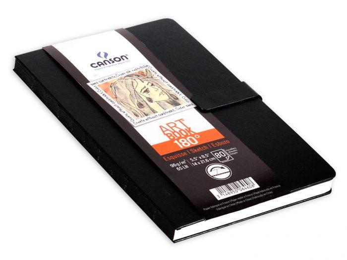Sąsiuvinis eskizams Canson Art Book 180° - 1/2