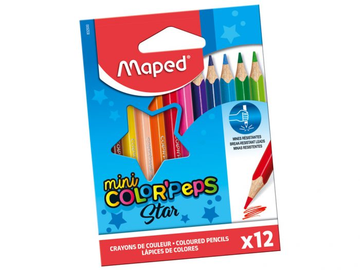 Krāsainie zīmuļi Maped Color'Peps Mini - 1/2
