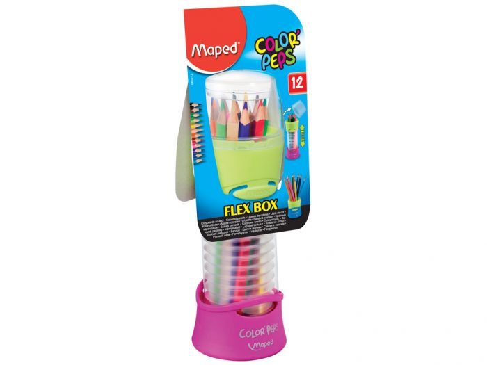 Colour pencil Maped Color'Peps Flex Box - 1/3